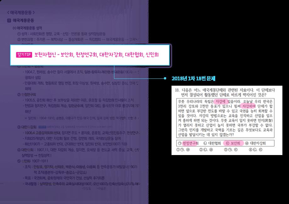 암기 TIP - 2017년 국가직 추가채용 9급 나책형 10번문제